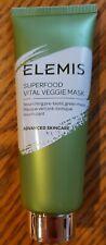 Elemis Superfood Vital Veggie Mask Nourishing Prebiotic Face Mask 2.5oz Msrp 35