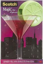 New SCOTCH Magic Cosmo MARTINI & Lime TAPE Dispenser & Tape Roll NIP NIB