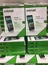 Cricket Wireless - HTC Desire 625 4G LTE with 8GB Memory Prepaid Smartphone NEW