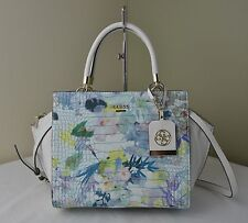 Guess Capri Watercolor Floral Croco Embossed Casey Stchel