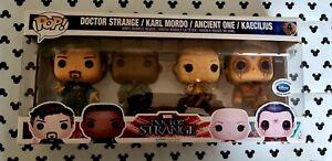 Funko Pop Doctor Strange 4 Pack Disney Stroe LE4000 Marvel 2015 Vinyl Figure &PP