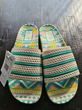 Adidas x Arizona Iced Tea Adilette Chalk White/Supplier Color Size US 12 Uk 11