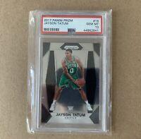 2017-18 Panini Prizm #16 Jayson Tatum Boston Celtics RC Rookie PSA 10 GEM MINT