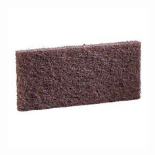 "(5) 3M Niagara 8541N Brown Utility Pads 4-5/8""x10"" wax finish baseboard cleaning"