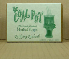 113gr. Purifying Patchouli Soap/Seife, VEGAN, all natural, Coal Pot Dominica
