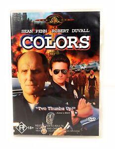 Colors (DVD, 2004) Sean Penn Robert Duvall Rare Region 4 Free Postage