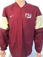 NEW Florida State Seminoles FSU Nike Large L Lockdown 1/4 Zip Jacket Team Issued