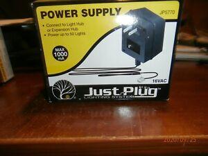 WOODLAND SCENICS  JP 5770 JUST PLUG LIGHTING SYSTEM-POWER SUPPLY