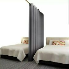 Rose Home Fashion RHF Privacy Room Divider Curtain 8 ft Wide x 7ft Tall