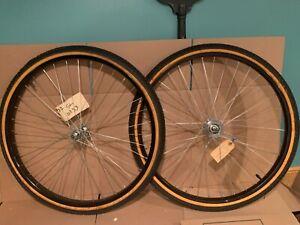 """Old School NEW NOS Cruiser (26"""" Wheels) Rims BMX Mongoose KOS Grove Arai 7c CW"""
