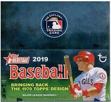 2019 Topps Heritage Baseball 24 Pack Box FACTORY SEALED