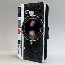 Vintage Leica Cámara Fotografía Flip Teléfono Estuche Cubierta para iPhone Samsung