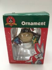 TAZ Reindeer Tornado Christmas Ornament Looney Tunes Tasmanian Devil IN BOX
