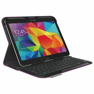 Logitech Keyboard Folio Galaxy Tab 4 Purple 920-006917 Samsung Galaxy 10.1