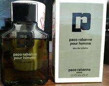 Paco Rabanne Pour Homme Vintage Eau De Toilette EDT Splash 3.4 oz 100ml 90%+Full