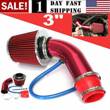 US Auto Cold Air Intake Filter Alumimum Induction Kit Pipe Hose System Universal
