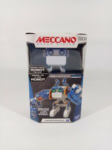 Meccano Programmable ROBOT Micronoid Erector Build Interactive 8+ yrs Basher