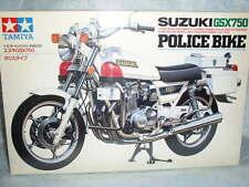 Tamiya 1/12 Suzuki GSX 750 Police Bike Motocycle Model Kit 14020