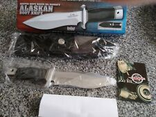 "Gil Hibben Alaskan Boot Knife Bowie Dagger GH5055 9"" OA Clip Sheath Micarta New"