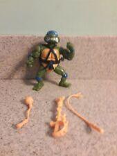 Wacky Action Leonardo Vintage TMNT Ninja Turtles Action Figure 100% Complete Leo