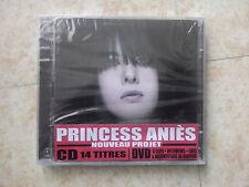 PRINCESS ANIES - NOUVEAU PROJET - RAP FR - 25 CD + DVD NEUFS