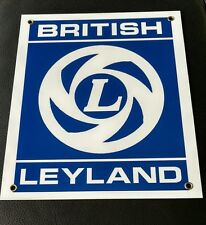 British Leyland sign .. Triumph MG Jaguar Land Rover Morris Austin Healey Aston