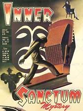 ADVERT INNER SANCTUM MYSTERY RADIO SHOW SCREEN ART PRINT POSTER BB7020