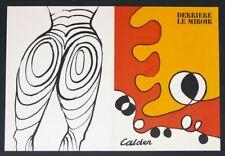 Alexander CALDER, Ohne Titel - Farblithographie