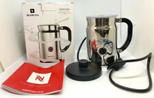 Nespresso Aeroccino+ Plus 3192-US Automatic Electric Milk Frother Cappucinno NOB