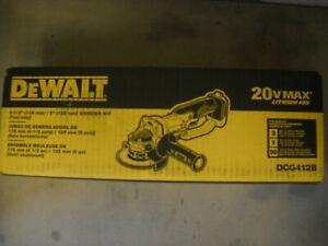 """Dewalt DCG412B 20V 4-1/2"""" Cordless Angle Grinder 20 Volt MAX Cut-Off Li-Ion NEW"""