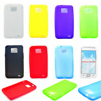 Soft Rubber Silicone Phone Protective Case Cover For Samsung Galaxy S2 II i9100