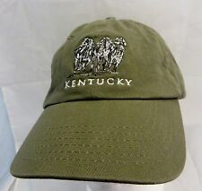 Kentucky horse racing logo   baseball cap hat adjustable buckle