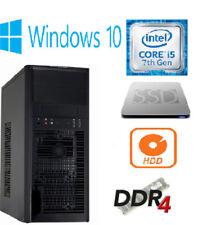 Tower Intel Core i5 7th Gen. Desktop & All-In-One PCs