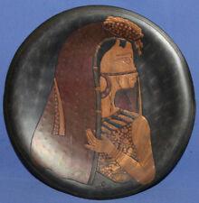 Vintage wall decor metal plaque Islamic woman