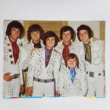 Vtg 70s Donny Osmond Brothers Poster Print Jimmy 2sided + Chris Knight