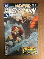 AQUAMAN #41 FIRST PRINT DC COMICS (2018) MERA DROWNED EARTH