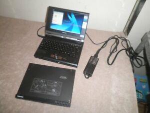 "Toshiba Libretto U105 7.2"" Mini Laptop Pentium M 512MB RAM, 60GB HD, DVD, Win XP"