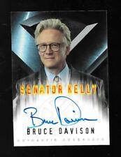 X-Men The Movie autograph card Bruce Davison - Senator Kelly