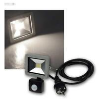 LED Fluter SlimLine, Strahler mit Bewegungsmelder, Flutlichtstrahler 10/30/50W