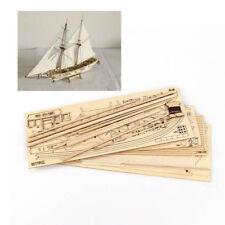 Hobby 1/100 HALCON 1840 Sail Boat Wooden Model Kit Wood Ship Assemble Display