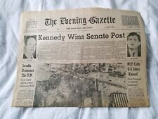 The Evening Gazette January 3, 1969 Worcester Mass