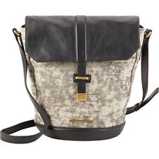 NWT marc jacobs natural selection canvas and leather crossbody tote satchel bag