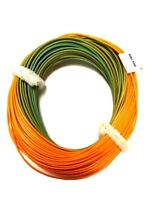 Orange / Green  Weight Forward Distance Floating Fly Fishing Line  WF7 WF8 WF9