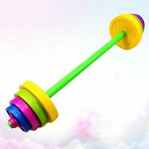 VOSAREA Dumbbells Weight for Kids Adjustable Dumbell Barbell Toy Exercise