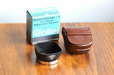 Near Mint Boxed Authentic Rollei TLR Bay I Lens hood, for Rolleiflex/Rolleicord