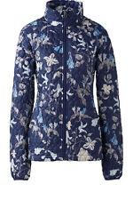 NEW Lands End Floral  Petite Jacket  Quilted  Primaloft Packable  Sz  PM