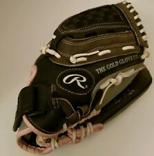 """Rawlings Girls Youth Fast-Pitch Leather Softball Glove Wfp115 Rh-Thrower 11.5"""""""