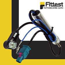 Cavo Adattatore Antenna ISO Maschio / singolo FAKRA Maschio Audi A3 A4 Avant