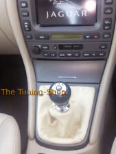 Gear Stick Gaiter For Jaguar X-Type 2001-2009 Cream Leather