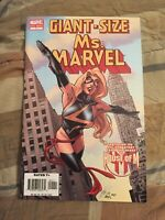 "Giant-Size Ms. Marvel #1 1st Appearance of Chewie the Cat ""Goose"" in Movie"